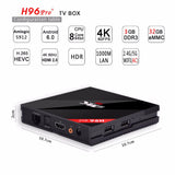 Bulk - H96 PRO Plus S912 Bluetooth - The Tv Box Professionals