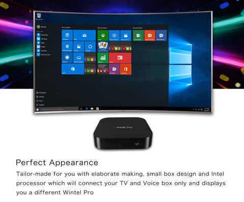 W8 PRO Z8300 Windows 10 MINI PC 2G/32G Wintel CX-W8 PRO - The Kodi Box Professionals Buy Android TV Boxes