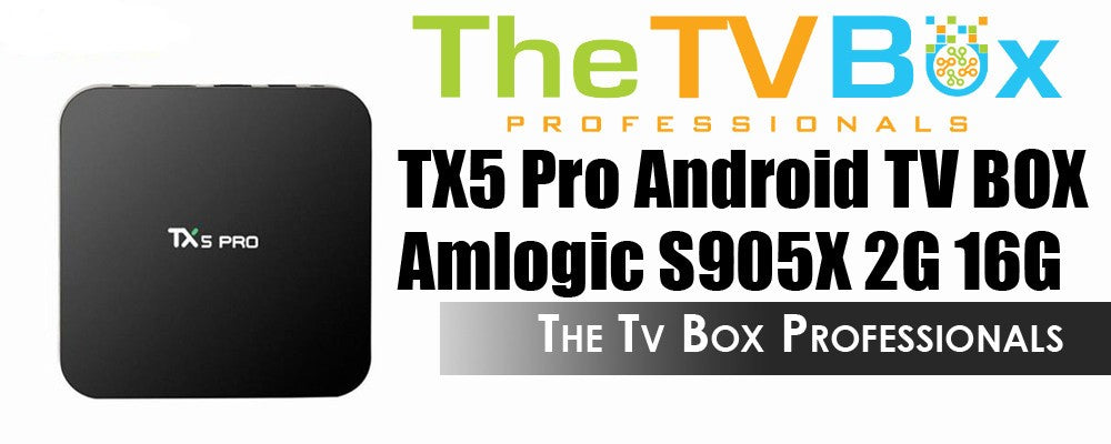 Canadian TX5 Android TV Box - The Tv Box Professionals