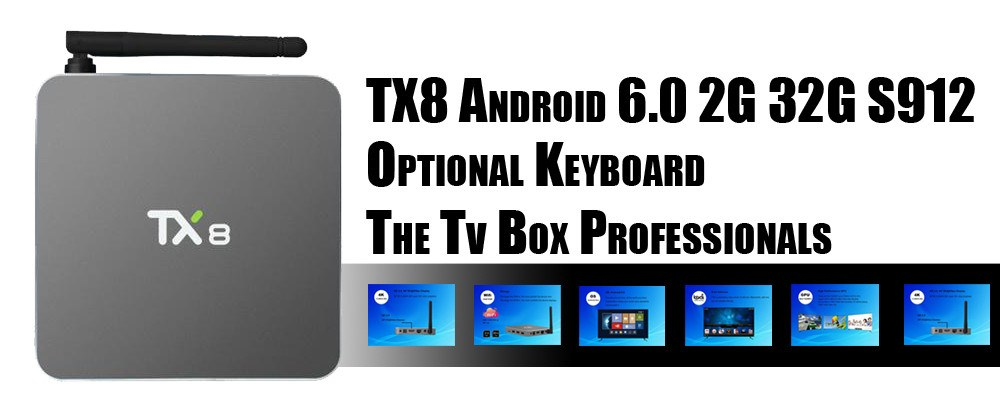 TX8 Android Tv Box - The Tv Box Professionals