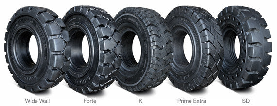Resilient pneumatic shaped solid tires
