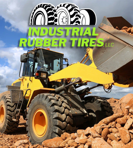 Loader Tires from Industrial Rubber Tires, LLC