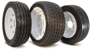 Industrial vehicle tires