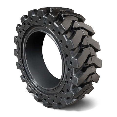 Solid Skid Steer Tire 33x12x20 Solid Tire Only - Replaces 12-16.5 Pneumatic - Industrial Rubber Tires