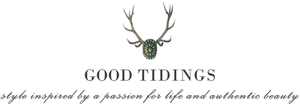 Good Tidings Turquoise jewelry