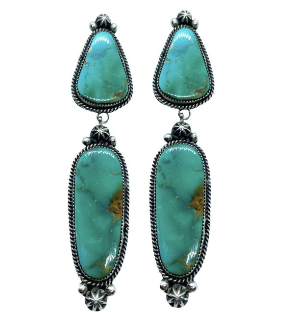 Casa Grande Collectable Turquoise Earrings-Earrings-Good Tidings
