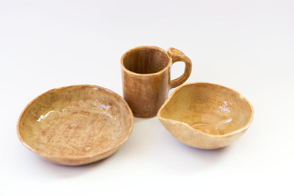 Ceramic 3-piece Set - Earth - Good Tidings x Clean Modern Mayhem