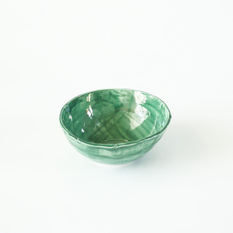 Ceramic Bowl - Turquoise - Good Tidings