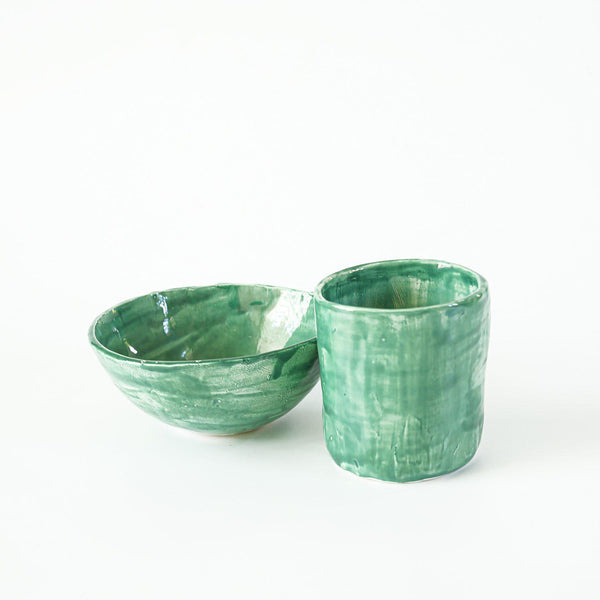 Ceramic Mug - Turquoise - Good Tidings