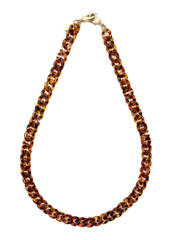 Chain Necklace - Tortoise - Good Tidings