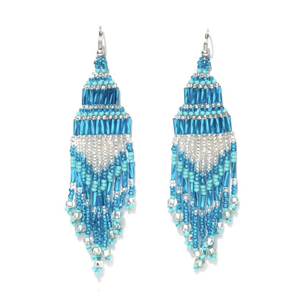 Encuentro Beaded Boho Earrings - Sea-Earrings-Good Tidings