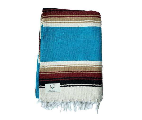 Marfa Navajo Style Aqua Blue-Good Tidings