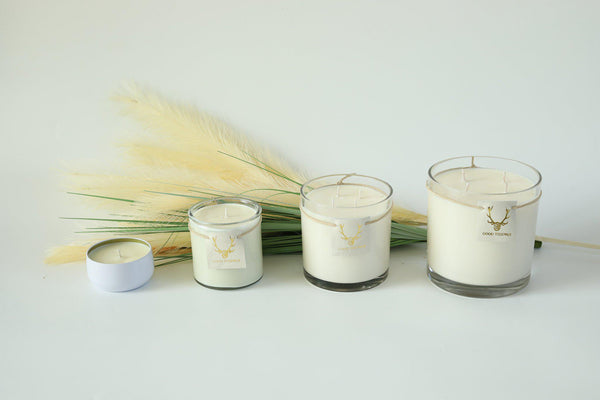 Sable Blanc Candle - Glass - Medium 15 OZ-Candle-Good Tidings