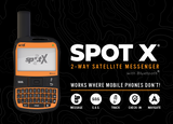 The SPOT X provides users with 2-way satellite messaging so they can stay connected with family and friends when they're off the grid and beyond cellular coverage