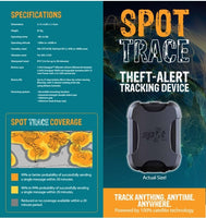 SPOT Trace anti-theft device - Connected SAVE $60 with Annual connection