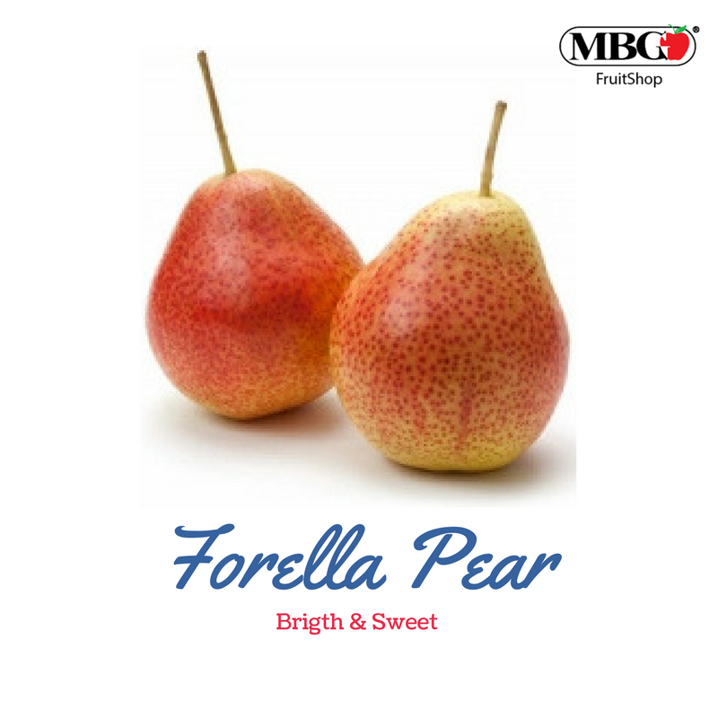 Forelle Pear, Bright & Sweet