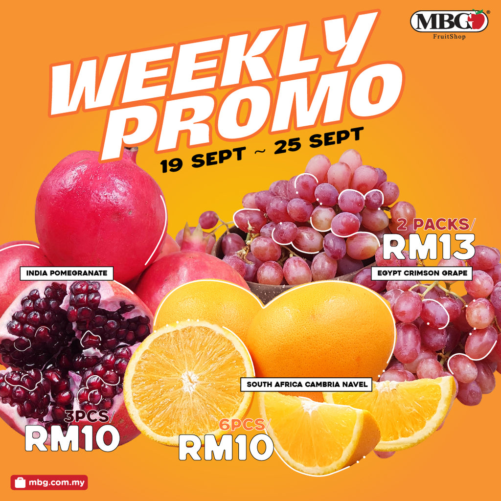 WEEKLY PROMOTION 19-25 SEPTEMBER 2020 !!!