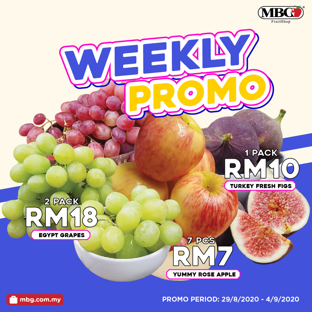 WEEKLY PROMOTION 29 August to 4 September 2020!!