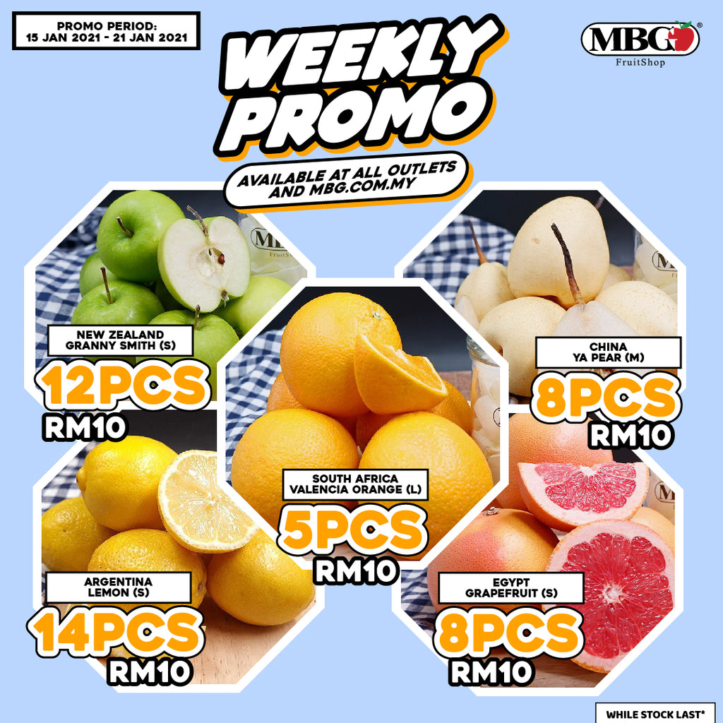 WEEKLY PROMOTION 15-21 JANUARY 2021 !!