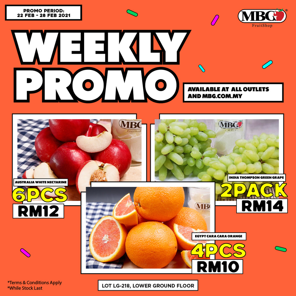 WEEKLY PROMOTION 22ND FEB TO 28TH FEB 2021⁠ !!