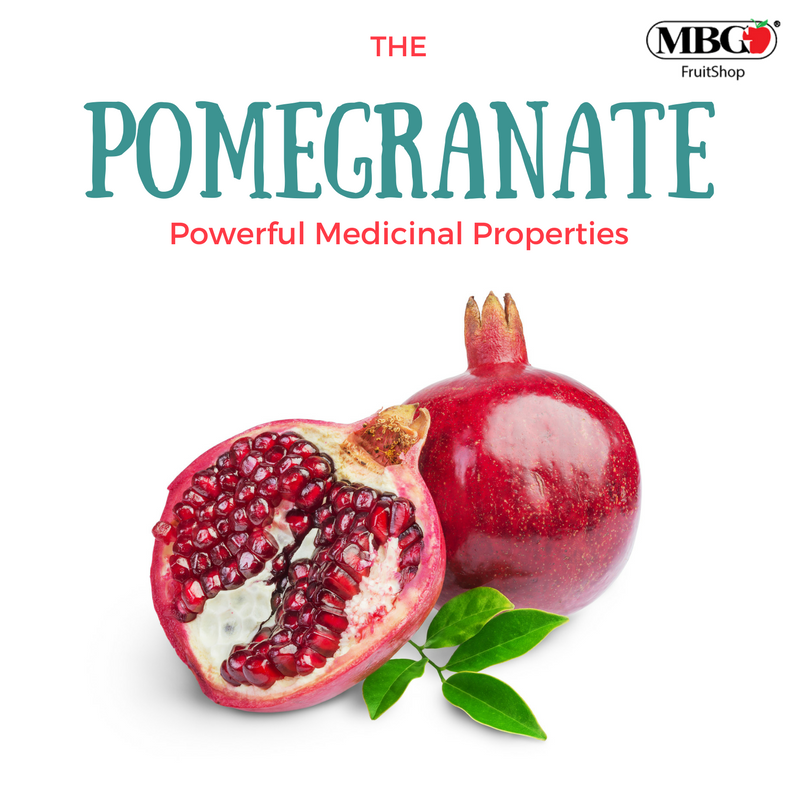 Pomegranate, Powerful Medicinal Properties