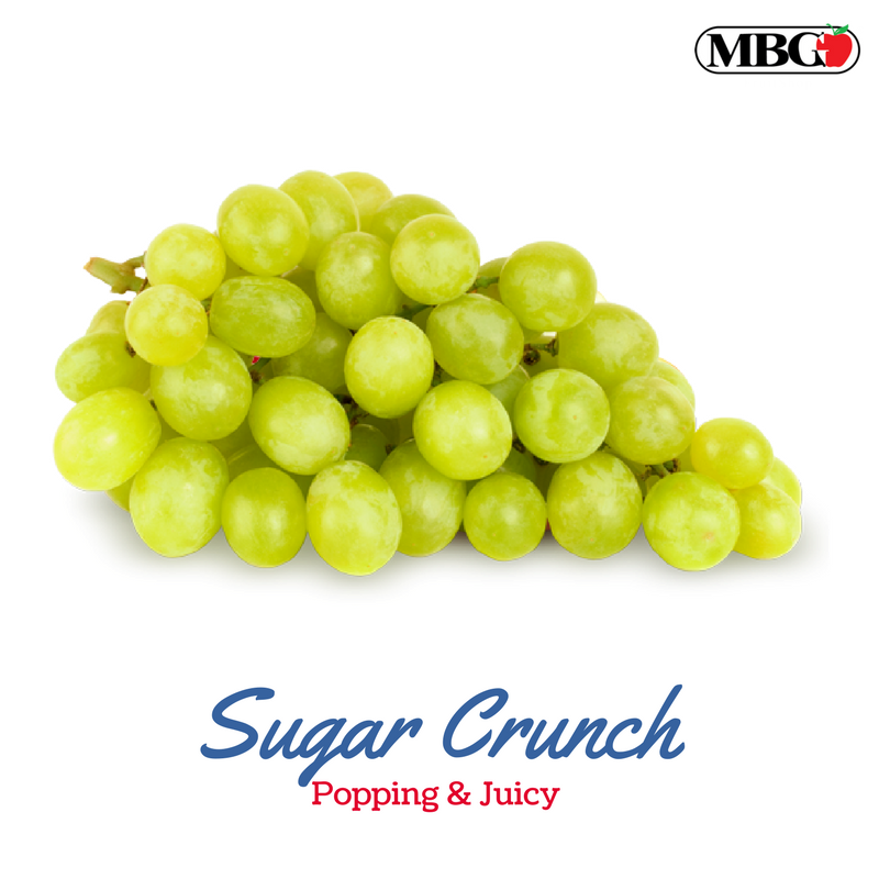 Sugar Crunch, Popping & Juicy