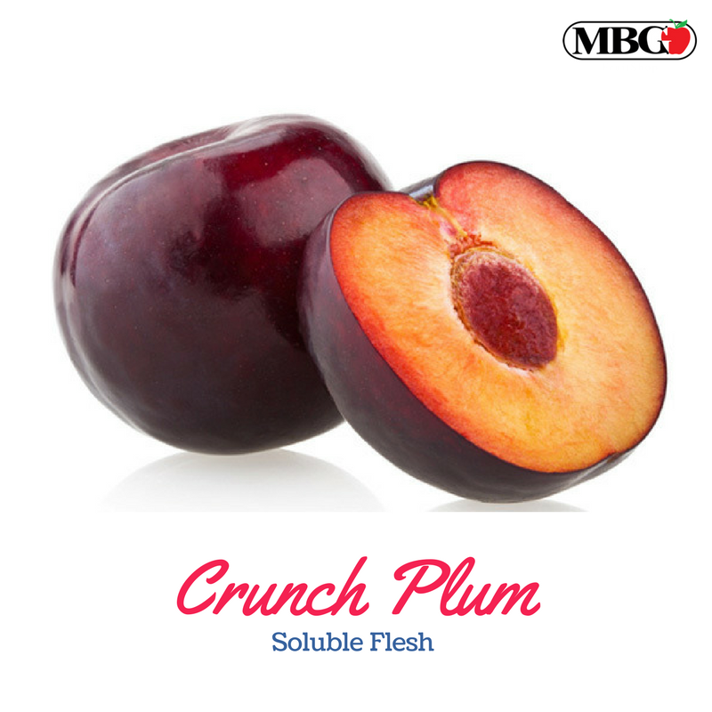 Crunch Plum, Soluble Flesh