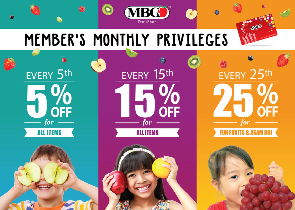 MBG Member's Monthly Privileges