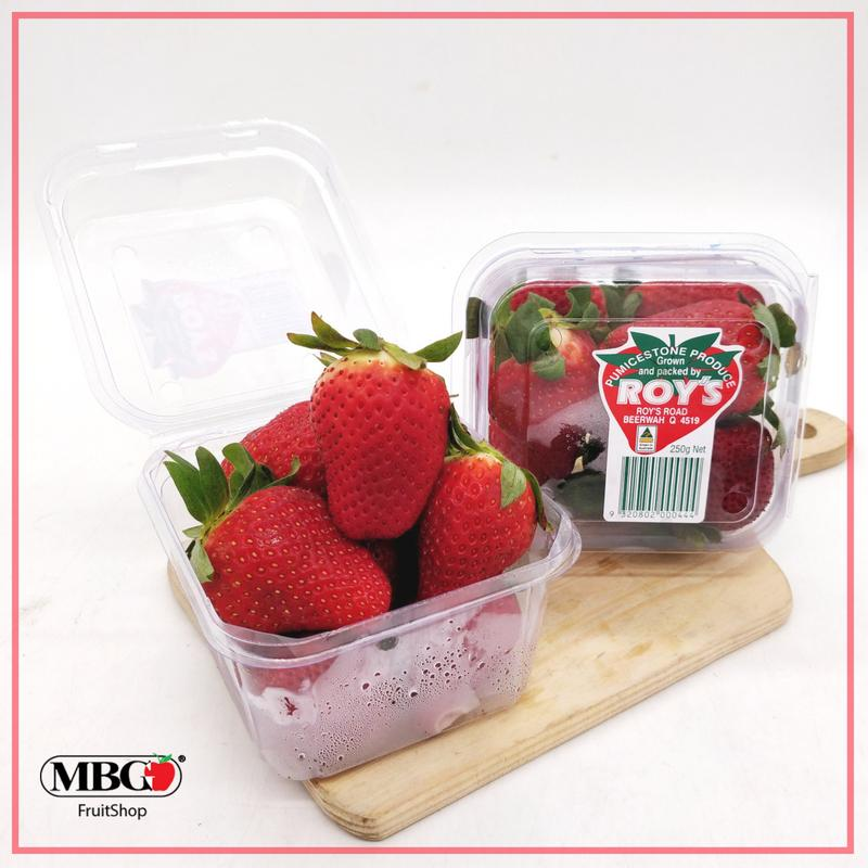 Australia Roy's Strawberry (250g/pack)-Berries-MBG Fruit Shop