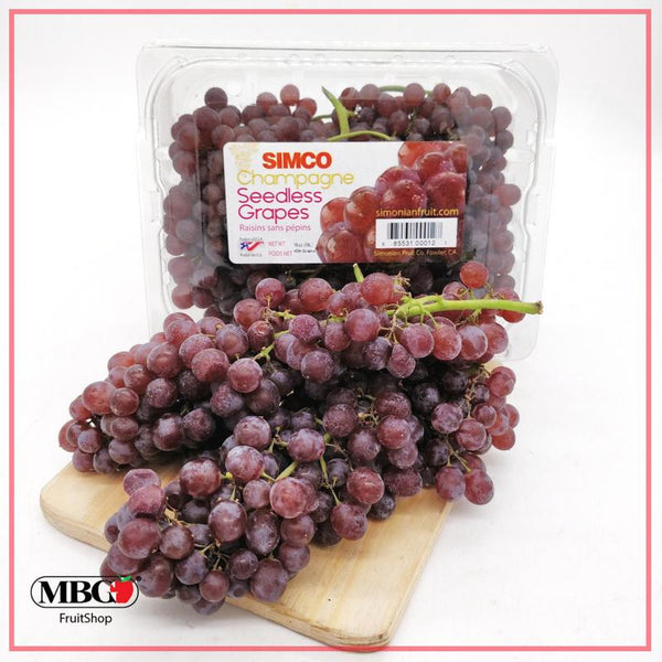 Canada Seedless Champagne Grapes (400G/Pack)-Grapes-MBG Fruit Shop