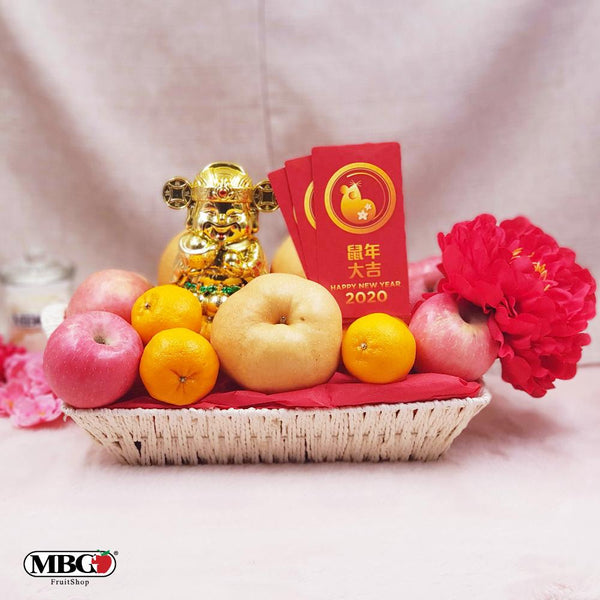 CNY Golden Hamper (M)-CNY Special-MBG Fruit Shop