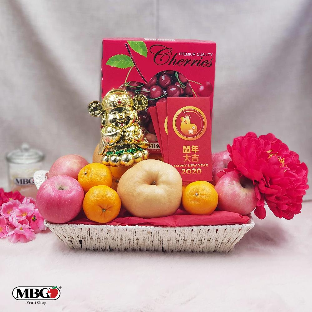 CNY Golden Premium Hamper (M)-CNY Special-MBG Fruit Shop