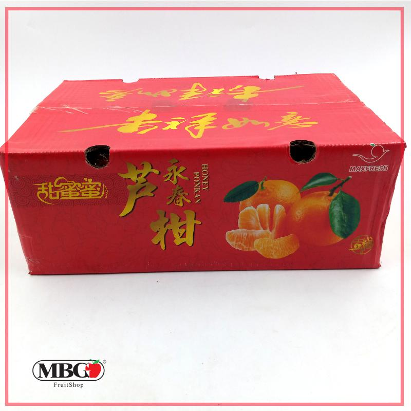 CNY9B Yong Chun Honey Ponkan XL 4KG [24Pcs/Pack]-CNY Special-MBG Fruit Shop