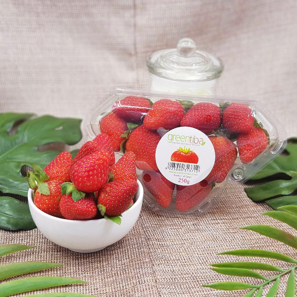 Egypt Valentine Strawberry (250g/Pack)-Berries-MBG Fruit Shop
