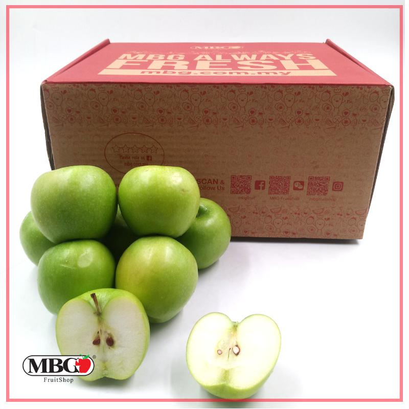 Granny Smith Apple Box (S) [32Pcs/Box]-Fruit Box-MBG Fruit Shop