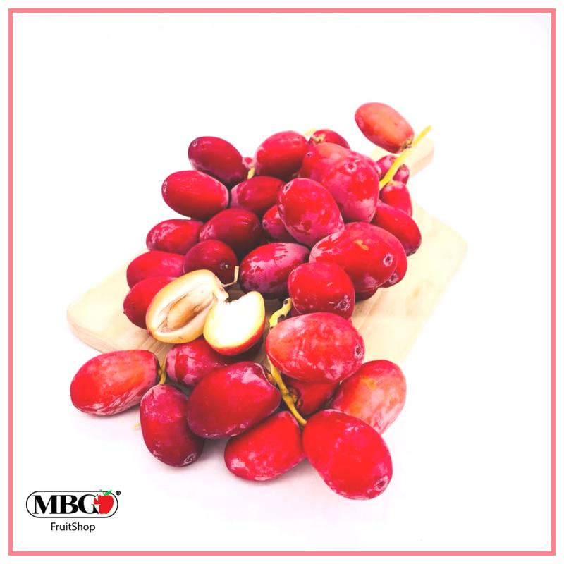 India Fresh Red Dates Barhi (500G/Pack)-Seasonal Fruits-MBG Fruit Shop
