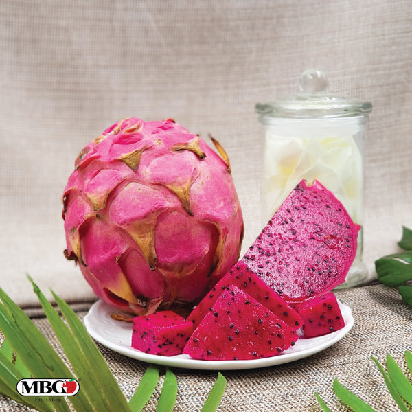 Indonesia Red Dragon Fruit (L)-Exotic Fruits-MBG Fruit Shop