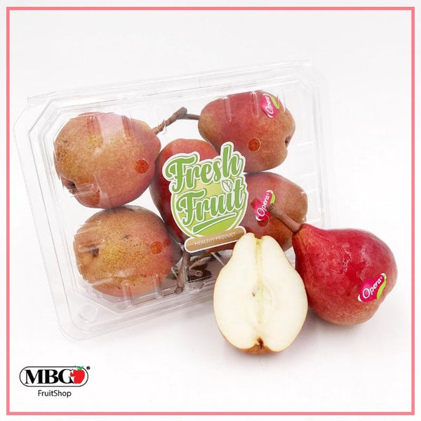 Italy Opera Max-Red Bartlett Pear [5Pcs/Pack]-Apples Pears-MBG Fruit Shop