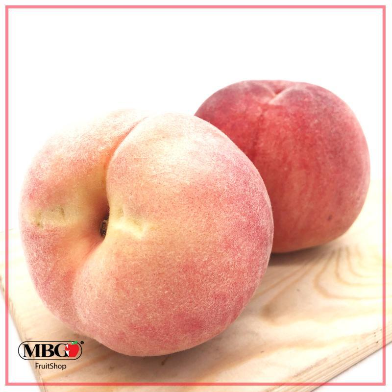 "Japan Yamanashi Sweet ""Momo"" Premium Peach 山梨水蜜桃 (XL)-Stone Fruits-MBG Fruit Shop"