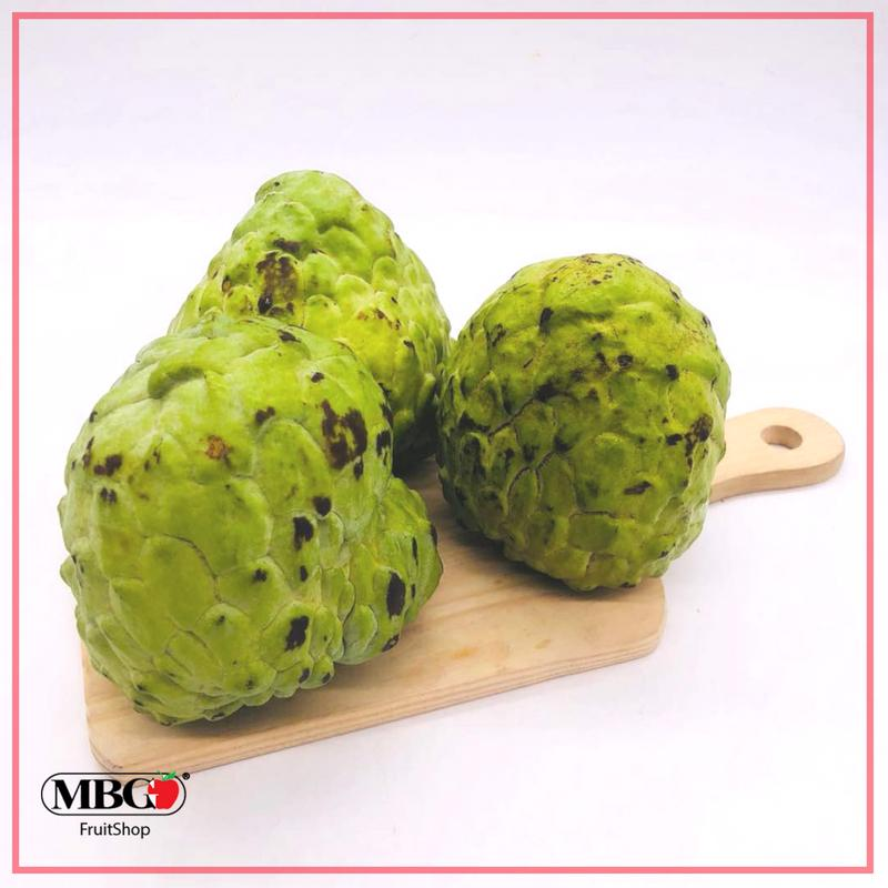 Malaysia Buah Nona / Custard Apple [6Pcs/Set]-Exotic Fruits-MBG Fruit Shop