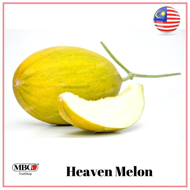 Malaysia Heaven Melon (White Flesh)-Melons-MBG Fruit Shop