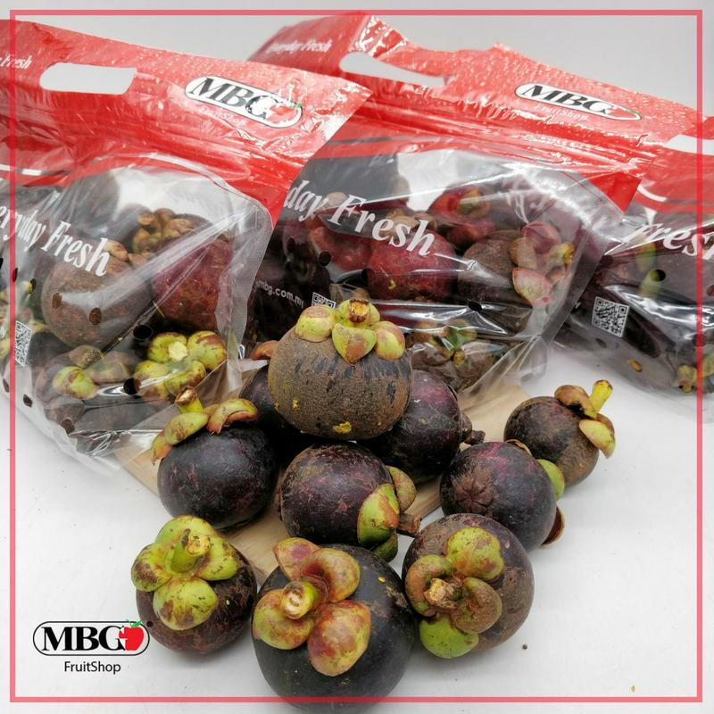 Malaysia Mangosteen (1KG/Pack)(3Pack/Set)-Exotic Fruits-MBG Fruit Shop