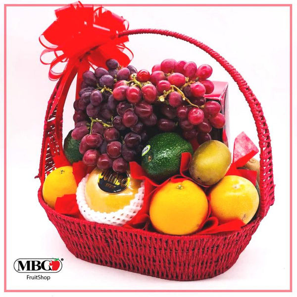 MBG Custom Fruit Basket - Specially Tailored Fruitbasket for VIP-Fruit Basket-MBG Fruit Shop