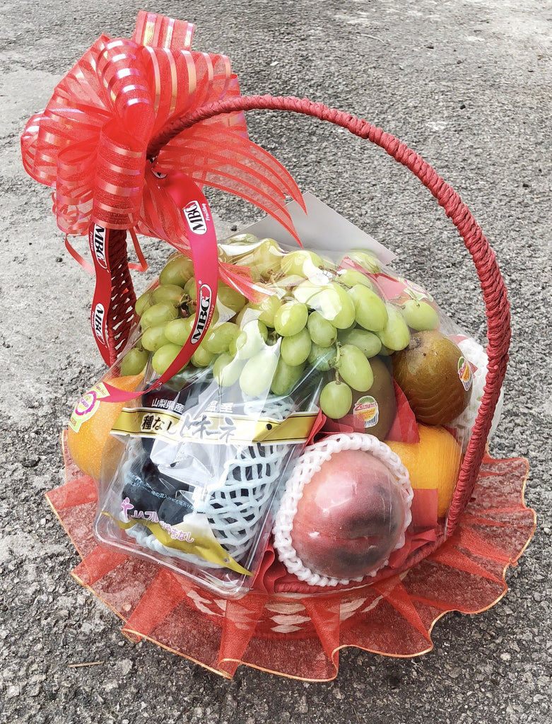 MBG Custom Japan Fruit Basket - Specially Tailored Fruitbasket for VIP-Fruit Basket-MBG Fruit Shop
