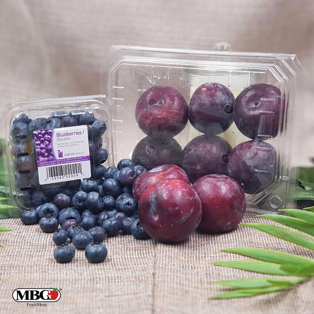 MBG Mix & Match Combo - Plum and Blueberry-Mix & Match-MBG Fruit Shop
