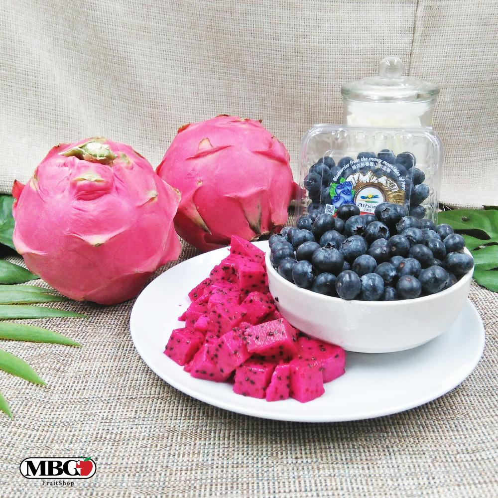 MBG Mix & Match Combo - Red Dragon & Blueberry-Mix & Match-MBG Fruit Shop