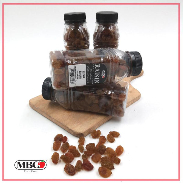 MBG Sultan Raisin (165g/ bottle)-Dry Product-MBG Fruit Shop