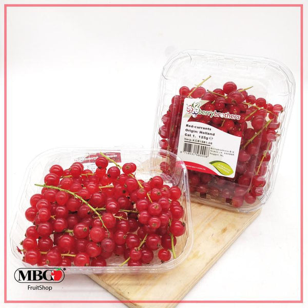 Netherlands Redcurrant (125g/Pack)-Berries-MBG Fruit Shop