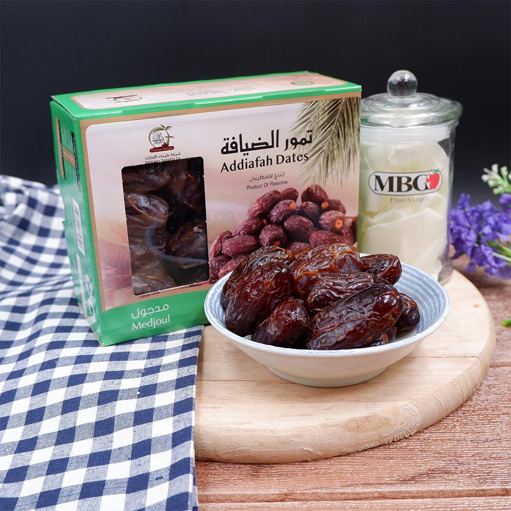 Palestine Addiafah Medjool Dates (1KG/Pack)[Outstation]-Outstation-MBG Fruit Shop