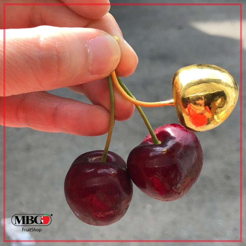 Premium Canada Cherry (1KG/Pack) with 1 Ounce Gold Cherry (999.9 Gold)-Stone Fruits-MBG Fruit Shop
